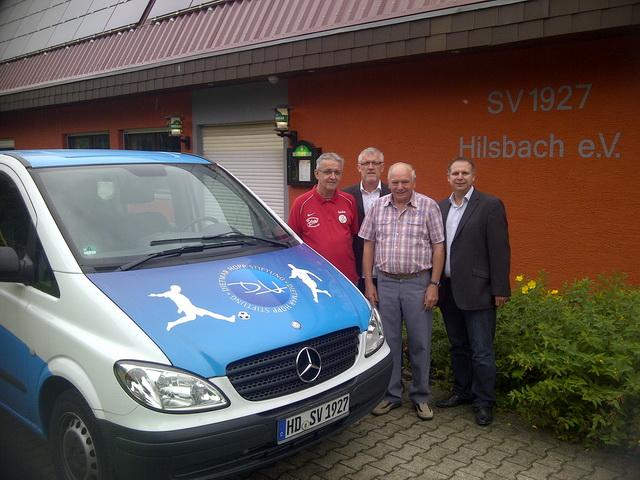 Raiffeisenbank Kraichgau unterstützt Jugendarbeit